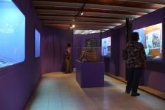 Sala de Exhibición de la Muestra Arqueológica